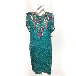 Vintage   Sequin formal dress   Size L